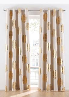 Плотные шторы Штора блэкаут с блестящим принтом (1 шт.) Bonprix