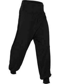 Спортивные брюки Брюки-шальвары для велнеса Bonprix