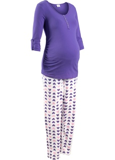 Одежда для беременных Пижама для кормящих мам (2 изделия) Bonprix