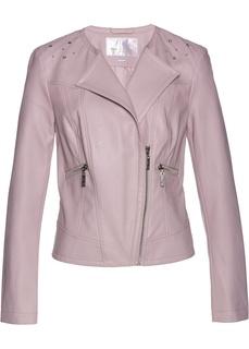 Все куртки Куртка из кожзаменителя с кристаллами Swarovski® Bonprix