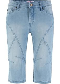 Джинсовые шорты Бермуды стретч джинсовые Bonprix