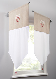 Короткие шторы Панно Кларисса (1 шт.) Bonprix