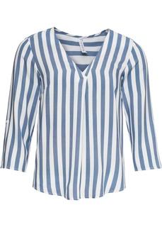 Блузки с длинным рукавом Блузка в полоску Bonprix