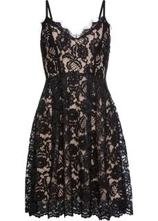 Короткие платья Платье из кружева Bonprix