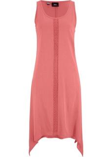 Короткие платья Платье длинное с асимметричным подолом Bonprix