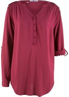 Блузки с длинным рукавом Туника с длинным рукавом Bonprix