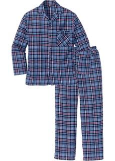 Пижамы Фланелевая пижама свободного покроя. Bonprix
