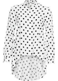 Блузки с длинным рукавом Блузка с асимметричным низом Bonprix