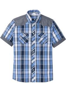 Рубашки с коротким рукавом Рубашка стандартного покроя с коротким рукавом Bonprix