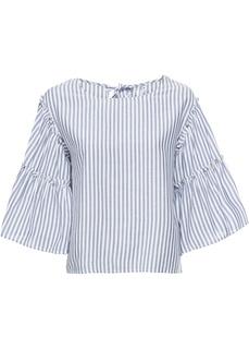 Блузки с длинным рукавом Блузка с воланами Bonprix
