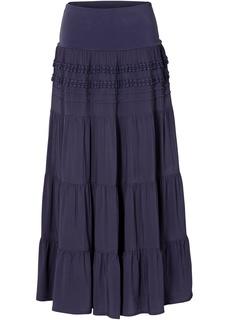 Длинные юбки Ступенчатая макси-юбка Bonprix