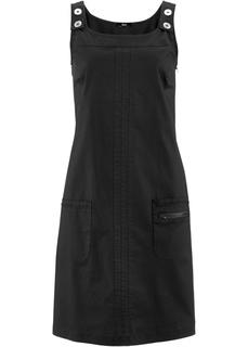 Короткие платья Базовая модель - сарафан из мягкого хлопка с нежным бумажным грифом Bonprix