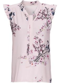 Блузки с коротким рукавом Блузка с бантом Bonprix