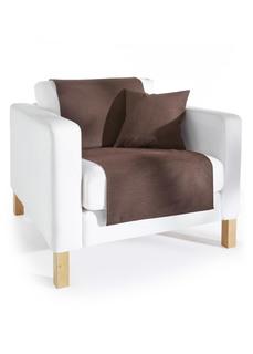 Покрывала и чехлы для мебели Накидка на диван Лоира Bonprix