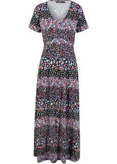 Длинные платья Платье макси трикотажное Bonprix