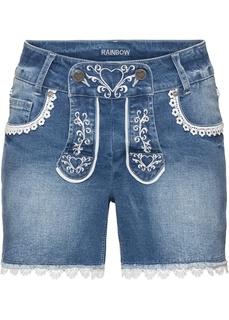 Джинсовые шорты Шорты в традиционном стиле Bonprix