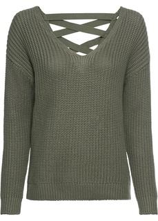 Пуловеры с V-образным вырезом Пуловер Bonprix
