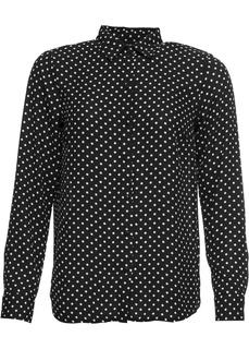 Блузки с длинным рукавом Блузка в горошек Bonprix