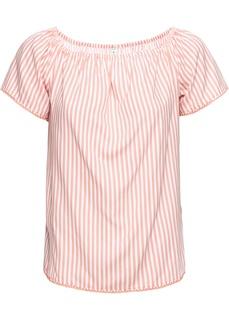 Блузки с коротким рукавом Блуза с открытыми плечами Bonprix