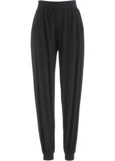 Повседневные брюки Трикотажные брюки-шаровары Bonprix