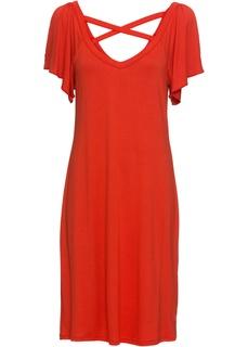 Платья со скидкой 20% Платье с вырезами Bonprix