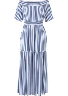 Платья со скидкой 20% Платье с широким вырезом Bonprix