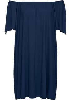 Платья со скидкой 20% Платье с вырезом Кармен Bonprix