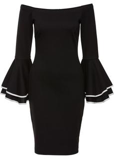 Платья со скидкой 20% Платье с открытыми плечами Bonprix