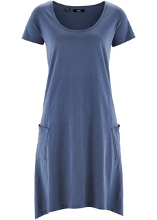 Платья со скидкой 20% Платье А-силуэта из трикотажа фламе Bonprix