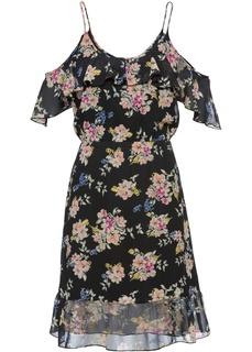 Платья со скидкой 20% Платье с воланом − классика гардероба Bonprix