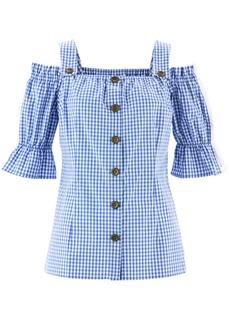 Блузки с коротким рукавом Блузка в баварском стиле Bonprix
