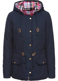 Все куртки Куртка с клетчатой подкладкой Bonprix