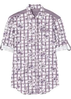 Ночные сорочки Ночная рубашка трикотажная на пуговицах Bonprix