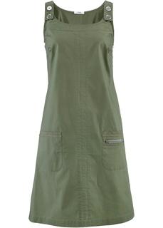 Короткие платья Базовая модель - сарафан из мягкого эластичного хлопка Bonprix