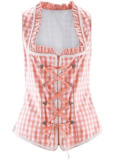 Блузки с коротким рукавом Корсаж в традиционном стиле Bonprix