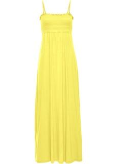 Длинные платья Платье в пол с присобранным лифом Bonprix