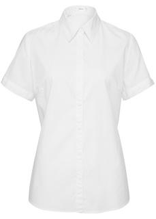 Блузки с коротким рукавом Блуза-рубашка с короткими рукавами Bonprix