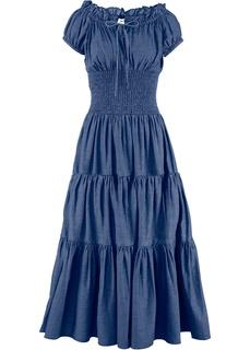 Платья с коротким рукавом Летнее платье Bonprix
