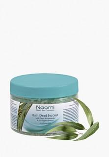 Соль для ванн Naomi Dead Sea Cosmetics Мертвого моря с экстрактом эвкалипта «NAOMI», 350 мл