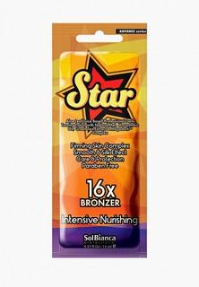 """Автозагар для тела Solbianca """"Star""""16х bronzer"""