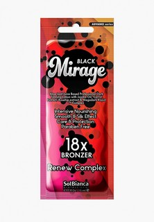 "Автозагар для тела Solbianca ""Mirage""18х bronzer"