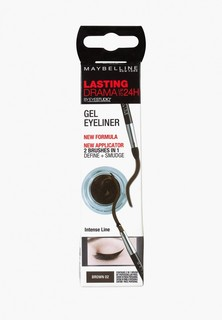 Подводка для глаз Maybelline New York Lasting Drama, коричневая, 11 г