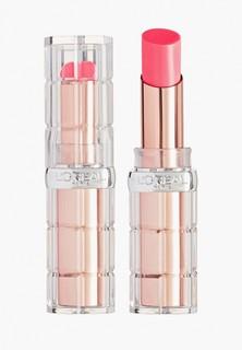 Помада LOreal Paris L'Oreal визуально увеличивающая объем губ Color Riche «Plump and Shine», оттенок 104, розовый, 3.8 мл