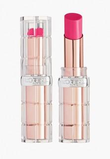 Помада LOreal Paris L'Oreal визуально увеличивающая объем губ Color Riche «Plump and Shine», оттенок 106, розовый, 3.8 мл