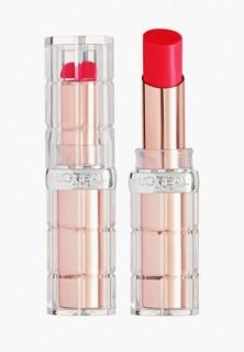 Помада LOreal Paris L'Oreal визуально увеличивающая объем губ Color Riche «Plump and Shine», оттенок 102, красный, 3.8 мл