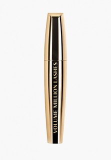 Тушь для ресниц LOreal Paris L'Oreal Объем миллиона ресниц Gold, для объема и разделения, 04, Коричневая, 9.5 мл