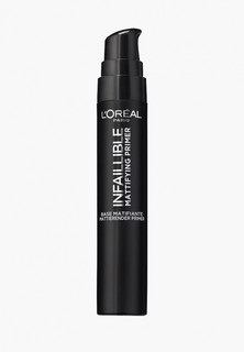 Праймер для лица LOreal Paris LOreal Infaillible Primer, оттенок 01, Матирующий, 20 мл