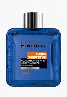 """Лосьон после бритья LOreal Paris LOreal Men Expert """"Гидра Энергетик"""" с антибактериальным эффектом, увлажняющий, восстанавливающий, 100 мл"""