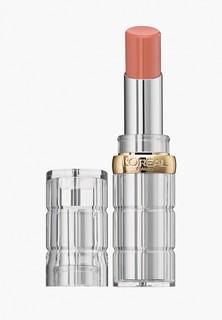 Помада LOreal Paris LOreal Color Riche Shine, защищающая и увлажняющая, оттенок 112, Только в Париже, 4.8 гр