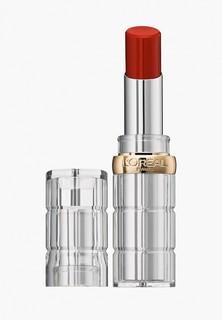 Помада LOreal Paris LOreal Color Riche Shine, защищающая и увлажняющая, оттенок 350, Рубиновое Безумие, 4.8 гр